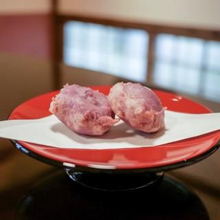 美榮 - 料理写真:☆紅芋の天ぷら