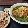 台湾料理 豊源 - 料理写真:葱ラーメンと油林鶏