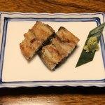 うなぎの竜由 - 料理写真:試作中の塩焼き