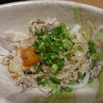 三代目 鳥メロ - 鶏皮ポン酢