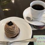 cake&cafe MILK - ランチのデザートとコーヒー