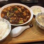 広東名菜   紅茶 - 麻婆豆腐定食