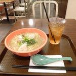 香港粥麺専家 - 翡翠カレー麺セット