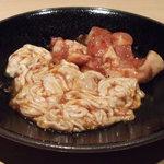 焼肉飯場 円蔵 - シロ 若鶏