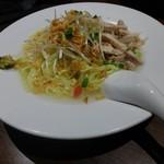 石庫門 - 鳥と葱の冷麺