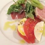 神田末広町 イタリアンレストラン ラレンツァ - 前菜です