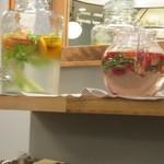 gelato pique cafe bio concept - ウォーターサーバー