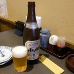 ソウル苑 - 瓶ビール600円
