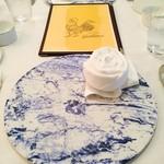 クッチーナ イタリアーナ ガッルーラ - テーブルセッティング。美しい☆