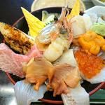 あら浜 - 漁師丼