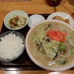 Ittetsu - チャンポンセット¥830