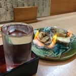 富久寿司 - 酒と万寿貝