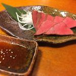 厚切り牛タン専門店 居酒屋 タン吉 - タンのローストビーフ   うん、いい色っ!