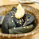 丸の内天ぷらめし 下の一色 - 茄子の煮浸し