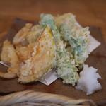 蕎麦ひら井 - 天ぷら