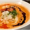 Menyaaishin - 料理写真:海老寿久担々麺 1000円 海老とゴマ!濃厚濃密♪