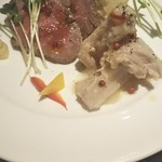 トレ ビッキエーリ -                                           前菜3種盛り