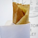 長瀞とガレ - みそ豚ガレドッグsmall燻製チーズ入り250円