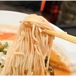 麺屋 愛心 - ウマウマ低加水麺。