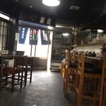 ほるもん天ぷらヤキニク 史 - 店内