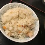 木屋 - かしわ飯(小)