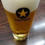 (有)旭屋酒店 - 生ビール