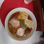 麺や金時 - 醤油ワンタン麺 980円