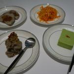 厲家菜 - 前菜 最初の四品