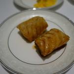 厲家菜 - 鱈のスパイス揚げ
