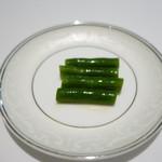厲家菜 - インゲンの和え物