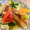 古民家 そらCafe - 料理写真:ハーフチーズケーキと ハーフシフォンケーキのセット♡