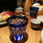 ひない小町 - お冷0円切子グラス