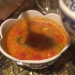 タイの食卓 パクチータイ - トムヤムスープS 690円