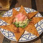 タイの食卓 パクチータイ - 海老のライスペーパー揚げ 980円