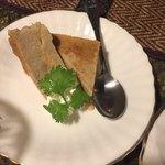 タイの食卓 パクチータイ - ココナッツ焼きプリン 420円