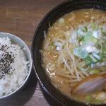 らー麺 武蔵 - みそラーメン 2013.09