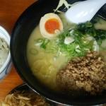 らー麺 武蔵 - 鶏パイタンラーメン白 2015.07