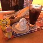 コメダ珈琲店 - ドリンク写真:クリームコーヒー540円(税込) ※いつの間にやら20円値上げ