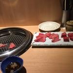 89258830 - 赤身肉と言いながら白目のお肉。                       でも美味しかったー