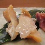 鮨まつい - ツブ貝