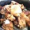 やきとり まぐろ 丼 奏栄 - 料理写真:炭火焼き鳥丼 ドアップ
