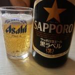 普天河 - サッポロなのにアサヒのグラス