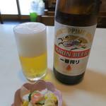 ときわ - 瓶ビール(キリン一番搾り)