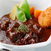 ダイニングキノシタ - 料理写真:赤ワインだけでじっくり煮込んだビーフシチュー