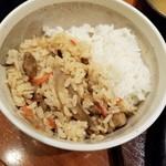 大かまど 芝 - 白飯&鶏めし