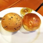 西武特別食堂 ホテルオークラ - 夏の洋食コース <オパール> パン