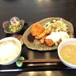 すみれキッチン - ミックス定食