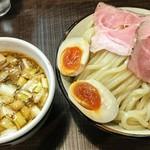 89267386 - 特製つけ麺(冷やもり)並盛り。