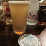 スモーク ビア ファクトリー NAMACHAん Brewing - なまホワイト980円
