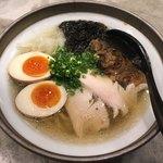 ソラノイロ ナゴヤ - 特製銀の煮干し麺(塩)